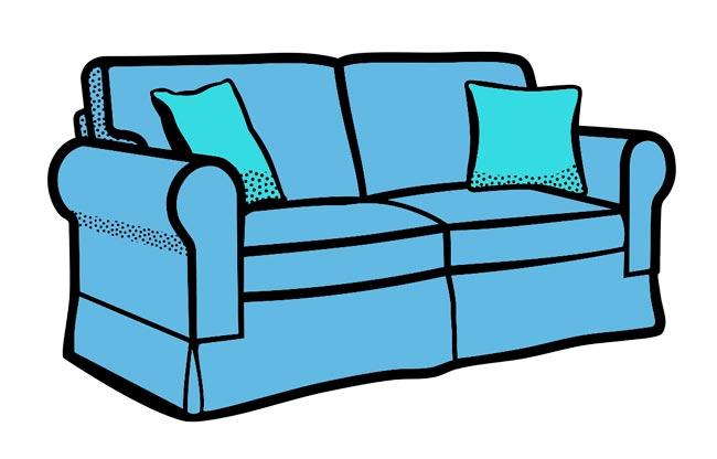 картинка дивана для детей